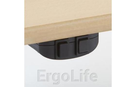 Сдвоенный стол с регулировкой высоты 501-15 S (W) 110-180